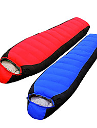 Tripolar Windproof/KEEP WARM/Cold Weather Duckdown Sleeping Bag Red/Blue FA2923X