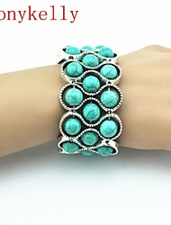 Unisex Alloy Persona Beads Collection With Multi-stone Bracelet