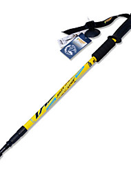 WEST BIKING® Outdoor Alpenstock Damping Durable Mountaining Cane Impact Resistant Hiking Crutches Walking Stick