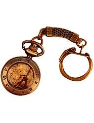 Torre Eiffel numero romano orologio da tasca portachiavi