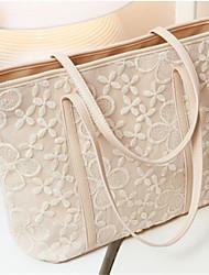 The new fashion lace female bag shoulder bag