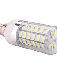 12W E14 LED Mais-Birnen T 60 SMD 5730 1200 lm Warmes Weiß / Kühles Weiß AC 220-240 / AC 110-130 V 1 Stück