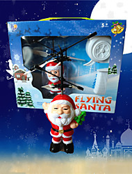 HY838 Newest Christmas Gift Flying Santa With Remote Control Toy