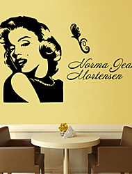 Complex old retro Marilyn Monroe posters in kraft paper posters, coffee shop, bar decoration painting classic poster