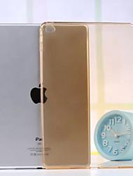 bom exemplo de TPU translúcida ouro tirano para o ar ipad 2 (cores sortidas)