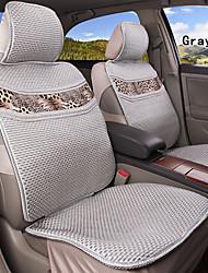 fibra de viscosa verano 6 PC fijaron todas las estaciones de asiento de coche ajuste universal en general cubre asiento de protección
