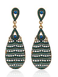 Drop EarringsJewelry 1set Golden Crystal / Alloy / Imitation Pearl / Agate / Gem / Resin / Rhinestone Wedding / Party / Daily / Casual