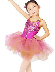 Vestidos/Auriculares Con Micrófono (Rosa , Nylón/Spandex/Lentejuela/Tul , Ballet) - Ballet - para Mujer/Niños