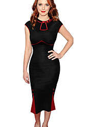 Women's Vintage Sexy Slim Fishtail Dress