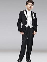 First Communion Ring Bearer Suit Polester/Cotton Blend 5 Suit Bearer Dressy Suits