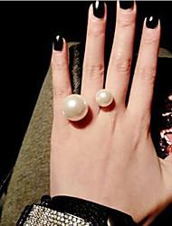 MISS U Women's  Pearl Ring