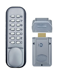 Mechanical Keyless Pushbutton Lock Stain Chrome OS20D