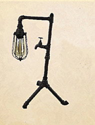 mini-lâmpada de mesa lâmpada de mesa tripé torneira
