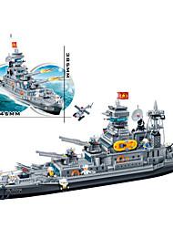 blocs banbao 8241 grandes militaire cruiser de l'océan bricolage 3d méga blocs de jouets pour les enfants âgés de 4-15