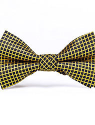 Gold And Silver Wire Grid Tie