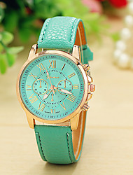 Peril Women's Leather band Analog Quartz Casual Watch(Assorted Colors)