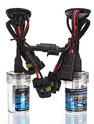 Car 9005 35W 6000K HID Xenon Headlight Light Lamp Bulb (2PCS)