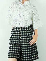 Shorts ( Coton mélangé ) Informel Femme