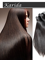 Mix Length Virgin Indian Remy Hair Weave,  100% Indian Hair Extensions Straight Raw Virgin Indian Hair