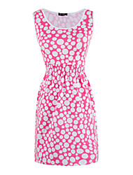 Women's Sleeveless Print Dress