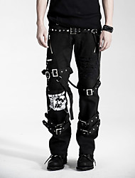 K-058 Hot-sale Used Gothic Punk Unisex Long Pants