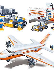 éducatif série de l'aéroport de transport d'avions véhicule de transport 4-15 jouet ville de banbao blocs enfants