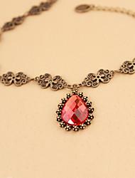 bijoux de corps de femmes de mode de charme de style gothique goutte d'alliage cru en forme de bracelets de cheville de diamant