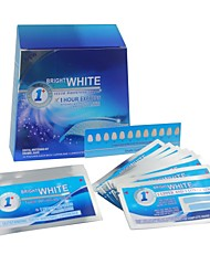 14 Pieces Home use Teeth Whitening Strips Mint Flavor for Teeth Whitening