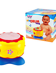 Musical Instrument Toy Electronic Drum with Music and Light