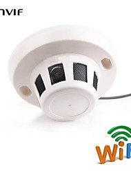 960P Mini Wifi Smoke CCTV Cameras Detector Hidden Network IP Security Camera WIFI IP Camera ONVIF Audio Pickup Camera