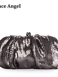 Women's Full Sequined Glitter Party Bag Evening Clutch Handbag