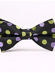 Noeuds Papillon (Gris/Bleu/Violet/Orange , Polyester) Taches