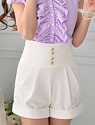 DABUWAWA Women's Casual/Work Shorts (Elastic/Polyester/Viscose)