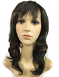 Mixed Color Hair Fashion in Europe and The Natural Human Hair Wigs Simulation
