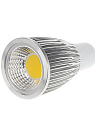 5w gu10 led spot mr16 1 cob 450-550lm blanc chaud / cool blanc ac 100-240 v 1 pcs
