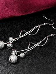 Jmiya Women Earrings, Vintage / Cute / Party / Casual Silver-Plated