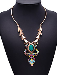 Eternity Women's European Style Gemstone Necklace