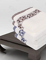 Two Pack Towel Blue/Brown Cotton the Outfit 33*74