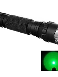 WF-501B Hunting Flashlight 1-Mode Cree Q5 LED Flashlight Hunting Search Green Light (240LM, 1x18650,)