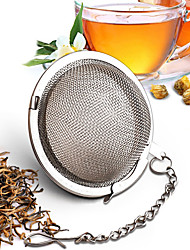 6.8cm Stainless Steel Infuser Strainer Mesh Tea Filter Spoon Locking Spice Ball