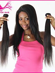 3Pcs/Lot Brazilian Virgin Hair High Grade Quality Wholesale Hair Natural Black Hair
