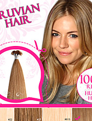 Light Color Pre-bonded U Tip/ Nail Tip 100% Russian Remy Human Hair Ty.Hermenlisa