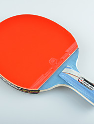 Winmax® 1 Pcs 5 Star Short Handle Table Tennis Racket with A Color Packing Box