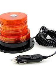 TIROL Magnetic DC12V/24V Strobe Beacon Amber Warning light 40 LEDs Mulfifunction 3 Flash Models