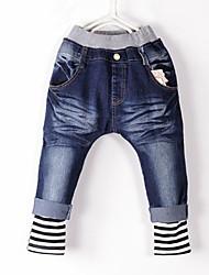 Jeans Maschile A strisce Per tutte le stagioni Denim
