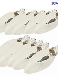 10 pièces YouOKLight E14 1.5W 2 SMD 150 LM Rouge edison Vintage Ampoules à Filament LED AC 100-240 V