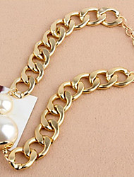 New Arrival Fashional Hot Selling Chain Pearl Necklace