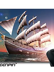 seenpin personalizado mouse pads design do veleiro 3d mar