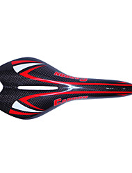 NEASTY Brand Orange and White Painted Bicycle Saddle Full Carbon Fiber Bike Saddle SA-NT10