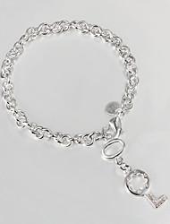 prata banhado ocasional charme pulseira pulseiras e braceletes promoção de venda mais quente da forma